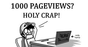 1000 pageviews? by chanchoi