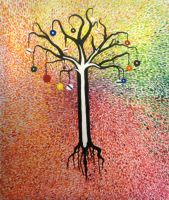 The Pool Ball Tree of Life by systemcat
