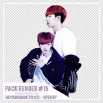 [PACK RENDER #15] IM YOUNGMIN - OPEN UP! by DTD12