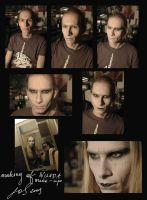 Making of Nuada make-up by LeafOfSteel