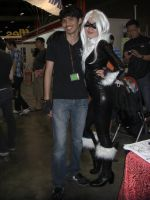 Me with a Sexy Black Cat by Ravisk