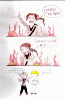 Katniss loves to set fire to the rain... by karolinann