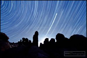 Arches Startrails by BMC-Photography