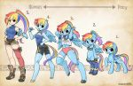 Types- RainbowDash by shepherd0821
