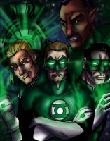 Green Lanterns by rusting-angel