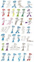 Teenage Robot Sheet 2 by Spectrumelf