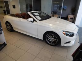 2017 Mercedes-Benz S550 Cabriolet (C217) by TheHunteroftheUndead
