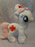 Nurse Redheart Commission by DappleHeartPlush