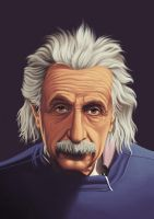 einstein by juanex