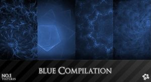 Blue Compilation No.1 by ML-Worlds