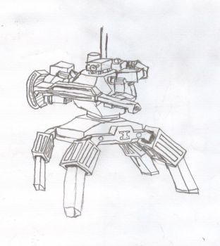Mech of Sorts by Trench-war