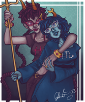 Homestuck: Gillfronds by MirageFlames