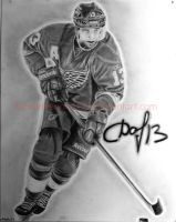 Pavel Datsyuk Red Wings by ashleymenard122