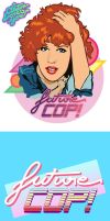 FUTURECOP ART and LOGO by Akutou-san