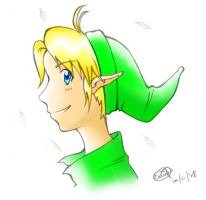 Young Link Coloured by AitamiIkimo