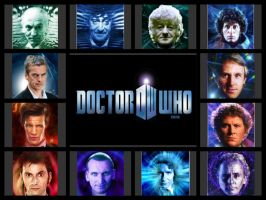 The Twelve Doctors by conjob1989