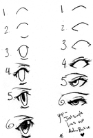 6-Step Eyes by InuYashaxLover