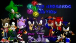 Team Hedgehog by isaiahcow1