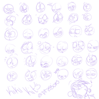 37 expressions sketch by kiki-kit