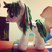 Gusty, G1 Pony Plushie - SOLD by LilWolfStudios