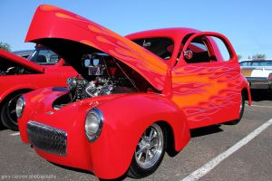 Flaming Hot Rod by worldtravel04