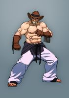 Fighting game character design 11 by Jiggeh