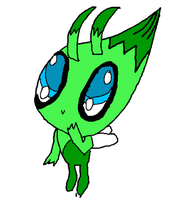 celebi request done :3 by MienfooInTraining