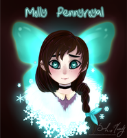 Ava's Demon OC - Molly Pennyroyal by StarshineBeast