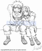 Commission - Naruto and Hinata by junosama