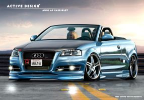 Audi A3 Cabriolet by Active-Design