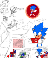 Sonic Sketchdump with 06 by bulgariansumo