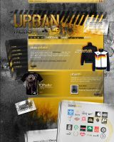 UrbanMess template by ashbridger