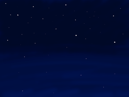 Starry Night Background by SarahtheSpartan