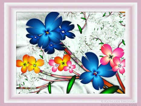 Nature's Floral Arrangement by rocamiadesign