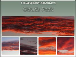 Clouds Pack 24 by shelldevil