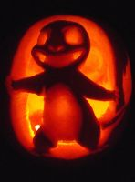 Charmander Pumpkin by xDazzle-Me-Edwardx