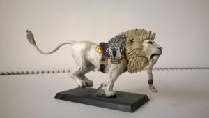 High Elf White Lion by ImposingBeauty
