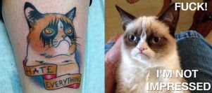 I Love Grumpy Cat by zeronemike