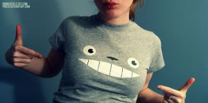Totoro - Always Watching Shirt by Poiizu