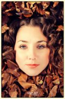 Autumnface by BellPhotography