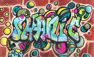 My name in Graffiti by ConkerTSquirrel