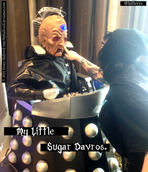 MarsCon 2016: Sugar Davros by Hithorys