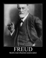 Freud Poster by Aristodes