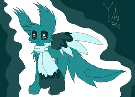 Ice egg hatched by hawkkit111