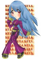 :.King Of Fighters--Kula:. by princessmikan