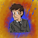 David Tennant by TheStrangerInTheFog