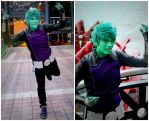 Beast Boy - Teen Titans Cosplay by legalrehab