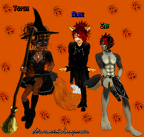 Happy Halloween From the Gang by EdwardxWinryrocks