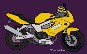 motorcycle by colorchrome