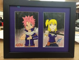 Fairy Tail: Natsu and Lucy by 2yoshis